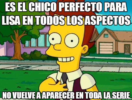 Meme_otros - Los guionistas no quieren la felicidad de Lisa Simpson