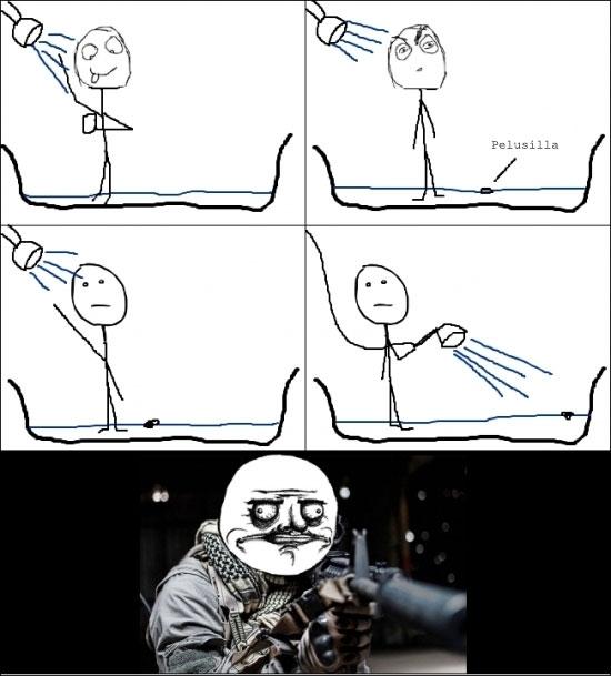Me_gusta - Admítelo, tú también has hecho esto en la ducha