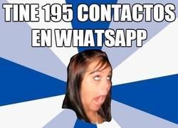 Enlace a Exceso de contactos en todos los servicios de chat