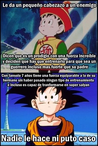 Son_goku - Parece que hay algo de favoritismo entre los hijos de Goku