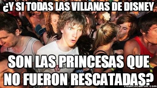 Momento_lucidez - ¿El posible origen de las villanas de Disney?
