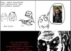 Enlace a Ned Stark es un gran ejemplo de padre