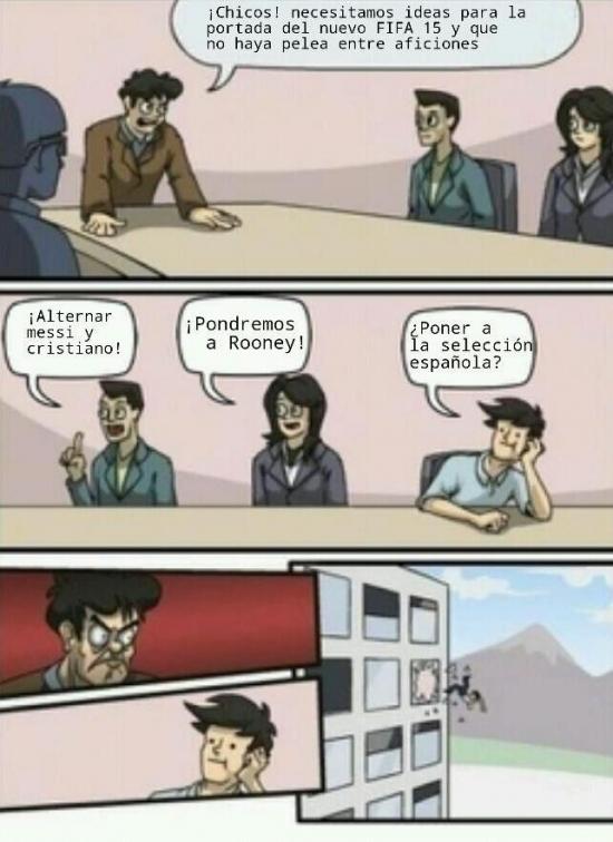 Otros - En las oficinas de EA, discutiendo sobre FIFA...