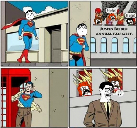 casa,fans,gafas,justin bieber,quemando,salvar,superman,vestirse