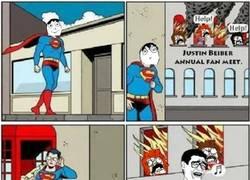 Enlace a Superman, haciendo un mundo mejor