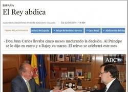 Enlace a El que abdica es el rey Juan Carlos, ¿eh? Sólo él...