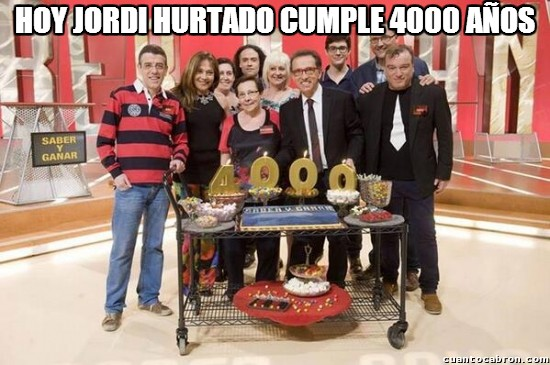 Meme_otros - ¡Felices 4000, Jordi!