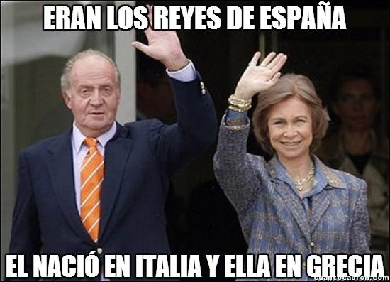 Meme_otros - Si te lo paras a pensar, lo de los Reyes de España no tenía mucho sentido