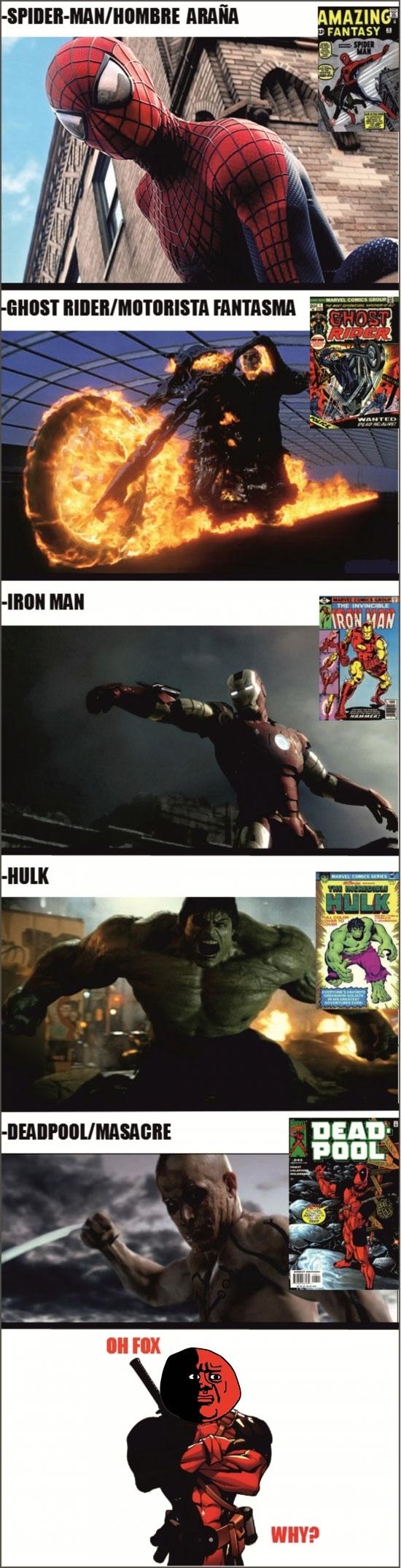 Oh_god_why - Las adaptaciones de Marvel no siempre serán buenas