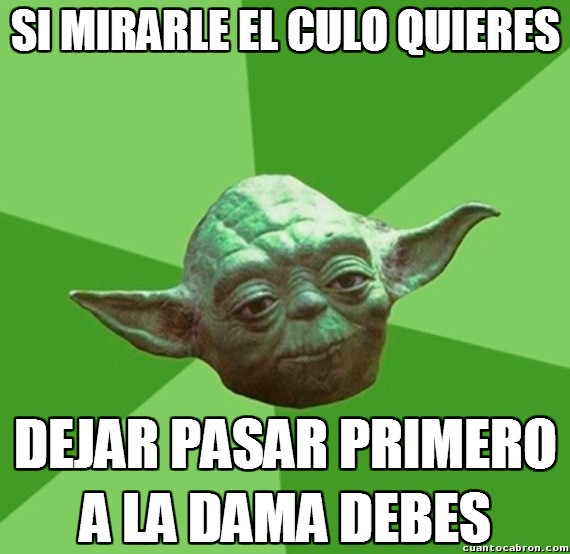 Consejos_yoda_da - Haz caso a Yoda, él sí que sabe