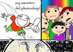 Enlace a Los amantes del Photoshop también se enfadan...