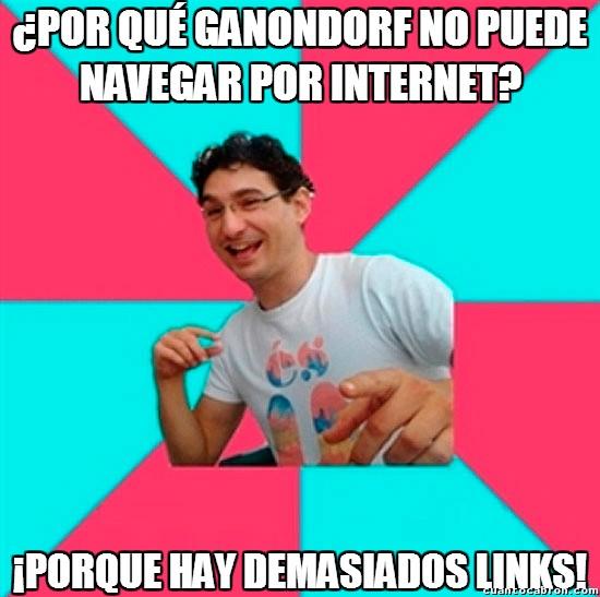 Bad_joke_deivid - El drama de Ganondorf con Internet