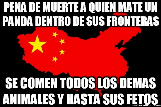 Meme_otros - Las leyes irregulares de China