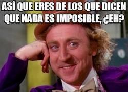 Enlace a Nada es imposible, ¿seguro?