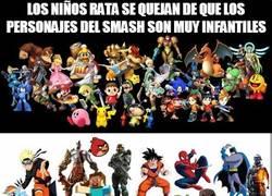 Enlace a La cuestión es pedir por pedir hasta en el Smash Bros
