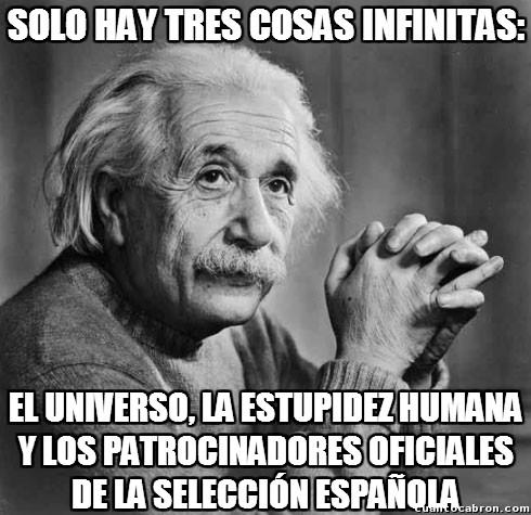 Tres_cosas_infinitas - ¿No son muchos los patrocinadores oficiales de la selección española?