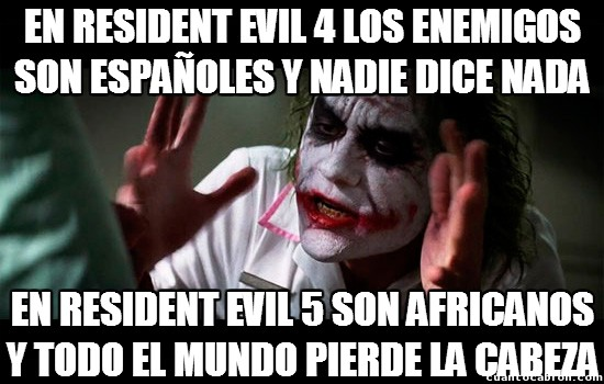 Joker - Resident Evil y el racismo