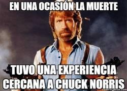 Enlace a La muerte y Chuck Norris