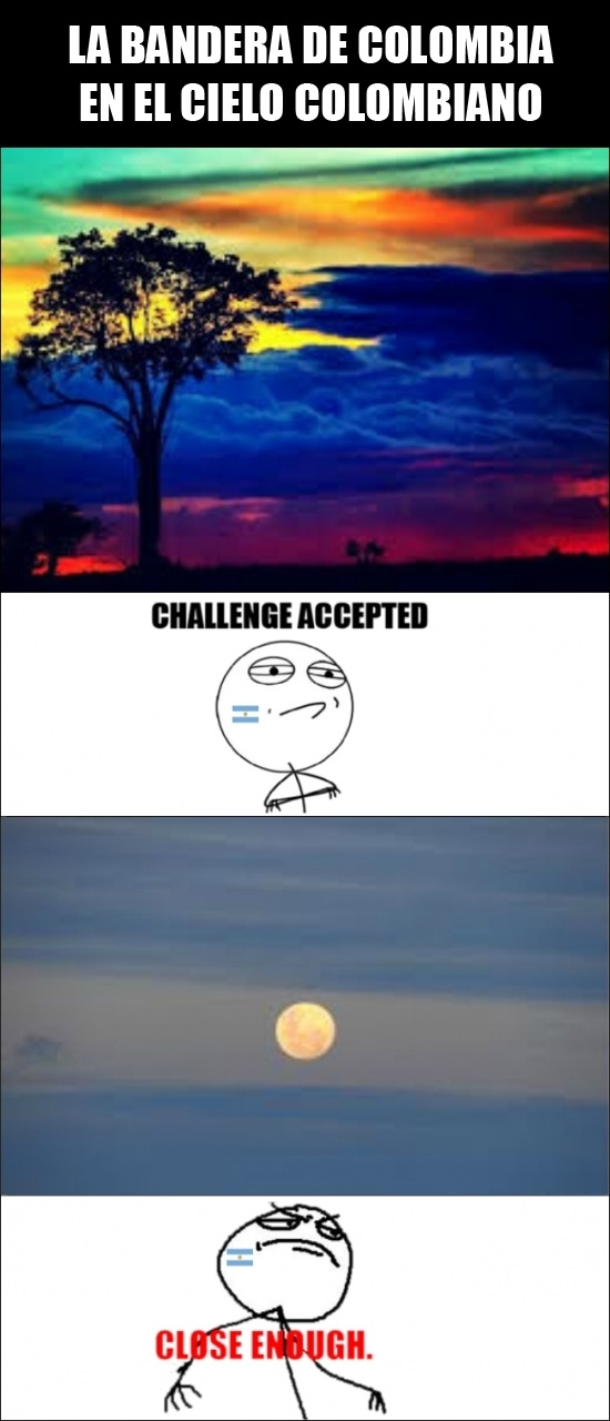 Challenge_accepted - Banderas del cielo