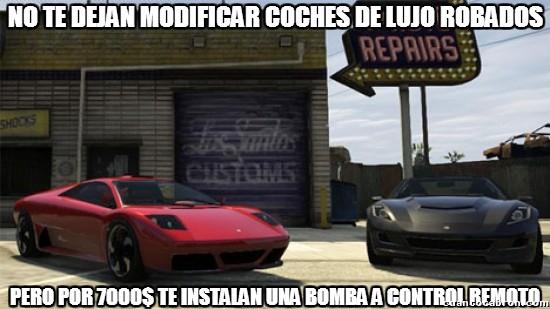 Meme_otros - En Los Santos Customs hay gente legal