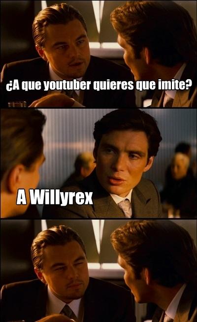imitar,Leonardo dicaprio,willyrex,youtube