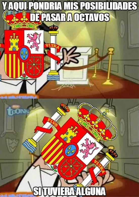 Si_tuviera_uno - Las posibilidades de la selección española