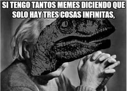 Enlace a La lógica del meme de Einstein