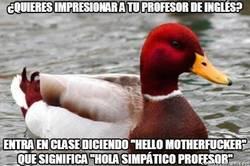 Enlace a Cómo impresionar a tu profesor de inglés