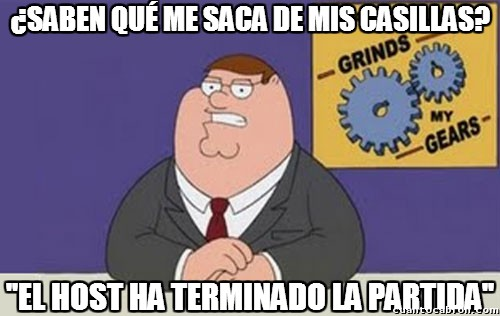 acabar,host,injusticia,juego,peter griffin,shooter,terminar,troll