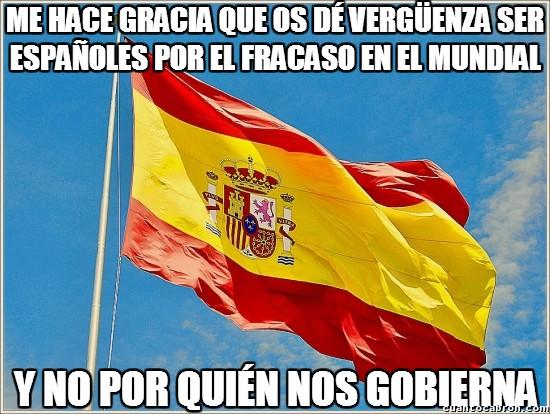 Meme_otros - La vergüenza de ser español
