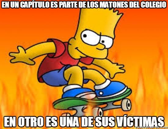 Meme_otros - La bipolaridad de Bart
