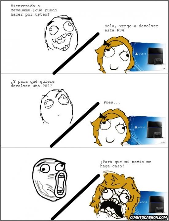 Lol - ¡Vengo a devolver la PS4!