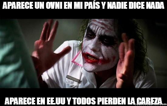 Joker - Favoritismo Extraterrestre