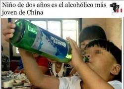 Enlace a El bebé borracho encuentra familia en China