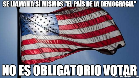 Meme_otros - Deben creer que la no-obligación es lo más democrático