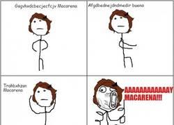 Enlace a ¿Y dices que te sabes la letra de La Macarena, no? ¡Sí, atento!