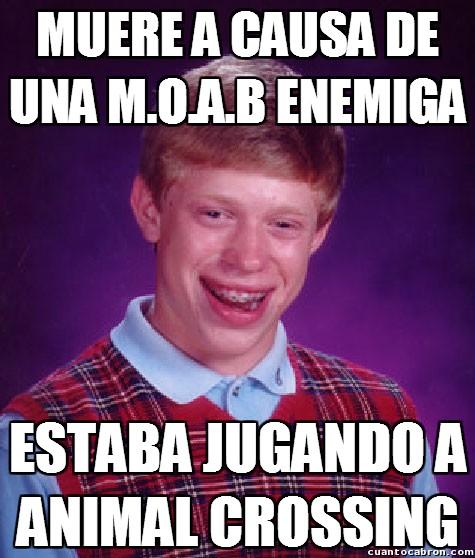 animal crossing,Badluck,COD,juegos,MOAB