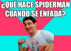 Enlace a Cuidado con Spiderman enfadado...