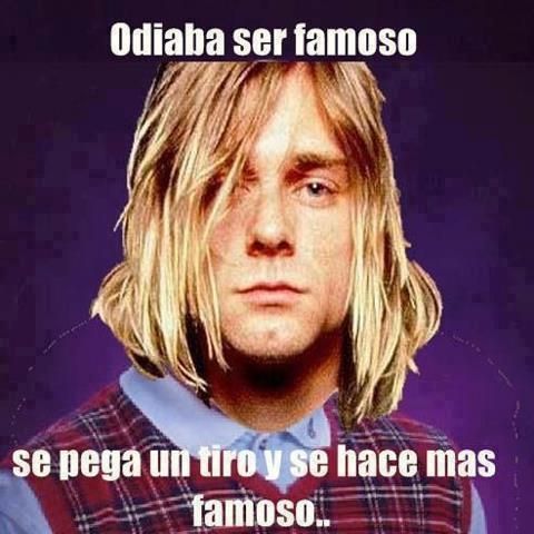 Bad_luck_brian - Kurt Cobain tiene la suerte de Bad Luck Brian