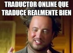 Enlace a Tradructores online, todo un mundo