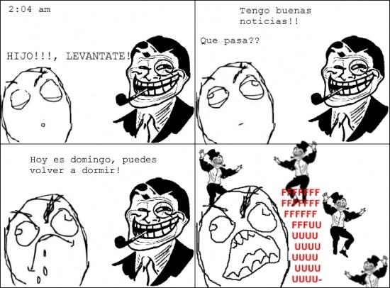 Trolldad - Mi padre me hace esto todos los fines de semana