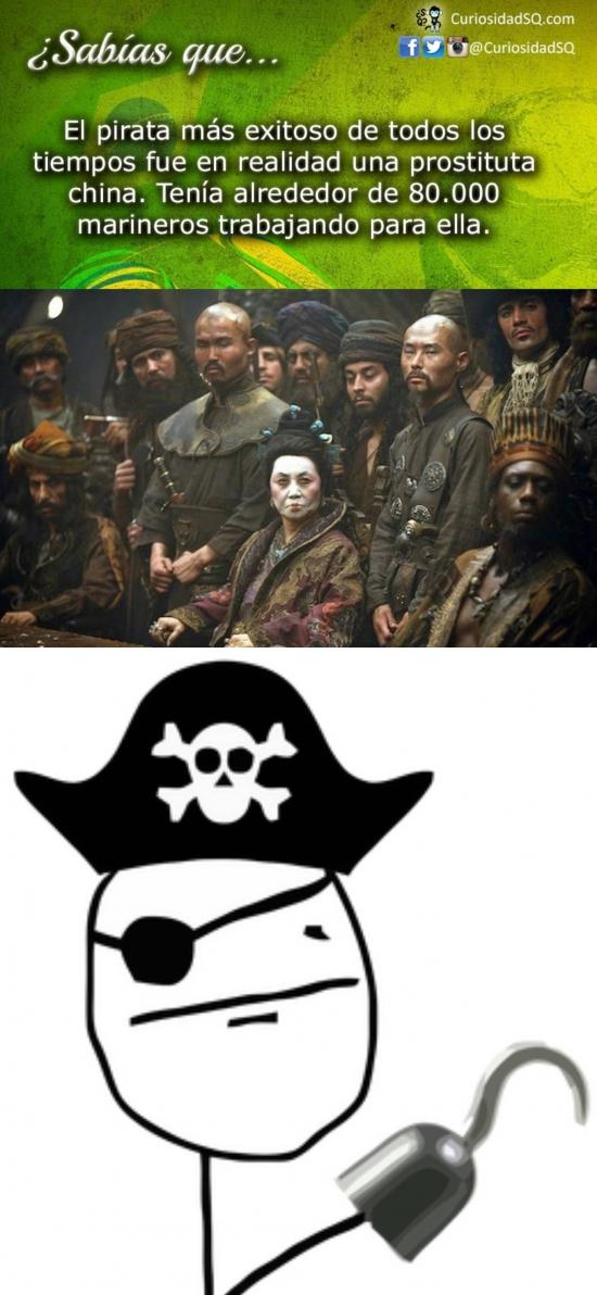 Pokerface - El pirata más grande de todos los tiempos fue...