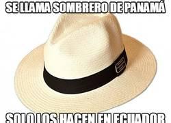Enlace a Lo raro de los sombreros de Panamá