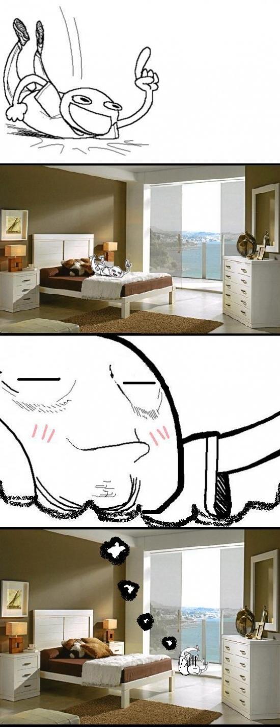 Otros - Cuando llego a casa de madrugada después de una buena fiesta...
