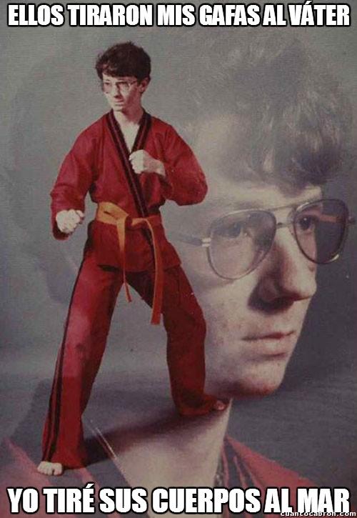 Karate_kyle - Piensa muy bien a quién vas a hacerle bullying