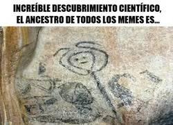 Enlace a ¡Se ha descubierto el ancestro de todos los memes en una pintura rupestre!