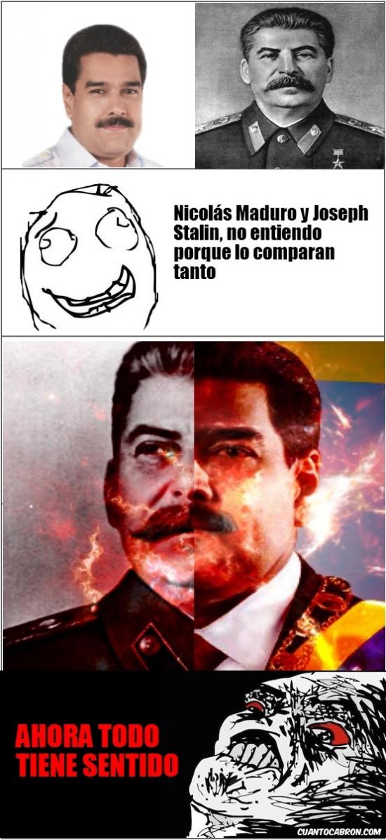 Inglip - Nicolas Maduro y Stalin tienen más en común de lo que parece de entrada