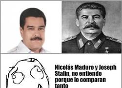 Enlace a Nicolas Maduro y Stalin tienen más en común de lo que parece de entrada