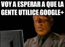 Enlace a Nadie quiere a Google+