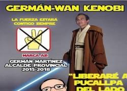 Enlace a En España tenemos candidatos frikis, pero en Perú se pasan